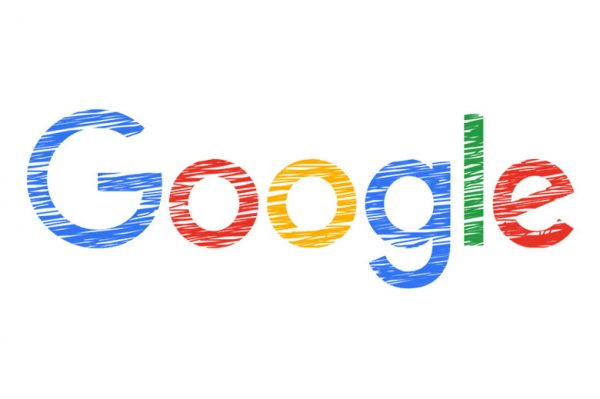 Google logo scribbled version